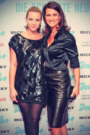 Annika Kipp & Marlene Lufen at Douglas Beauty-Hotspot Pre-Opening