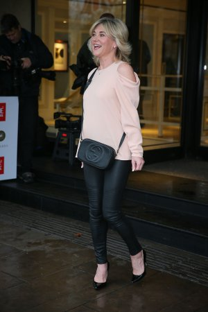 Anthea Turner attends The TRIC Awards