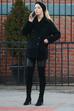 Anya Taylor Joy is spotted out and about in NYC