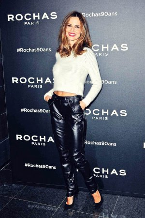 Ariadne Artiles attends Paris Fashion Week SS 2016