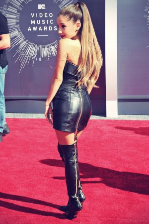 Ariana Grande attends 2014 MTV Video Music Awards