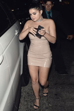 Ariel Winter outside The Nice Guy with Levi Meaden