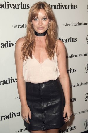 Arielle Free attends the Stradivarius Oxford Street store launch party