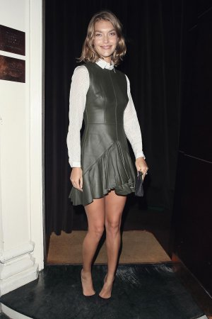 Arizona Muse attending the Rodial Dinner