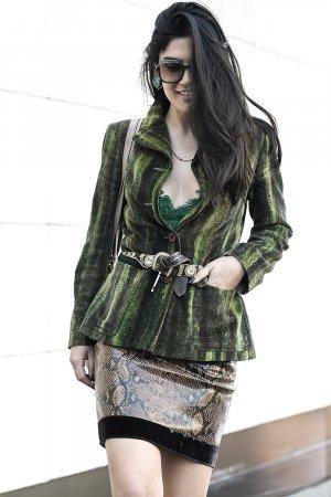 Asena Saribatur attends Mercedes-Benz Istanbul Fashion Week