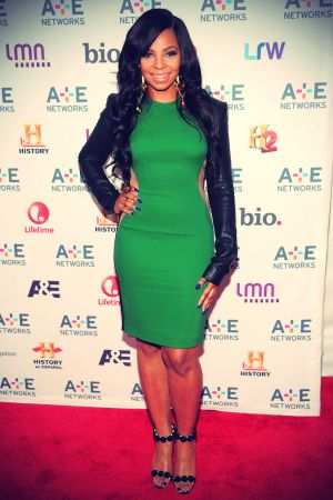 Ashanti attends A+E Networks 2013 Upfront at Lincoln Center