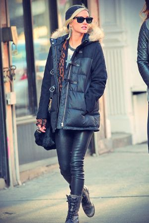 Ashlee Simpson out and about in NYC