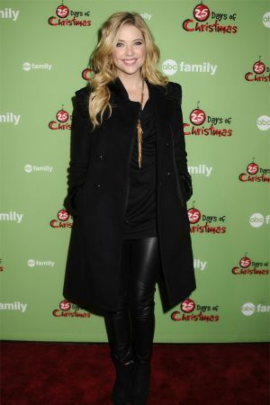 Ashley Benson at ABC Family 25 Days Of Christmas Winter Wonderland in NY