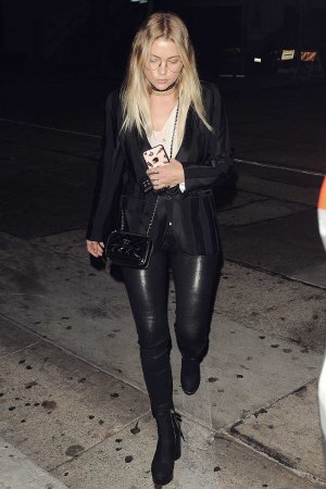 Ashley Benson at Craig's Restaurant