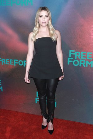 Ashley Benson attends 2017 Freeform Upfront