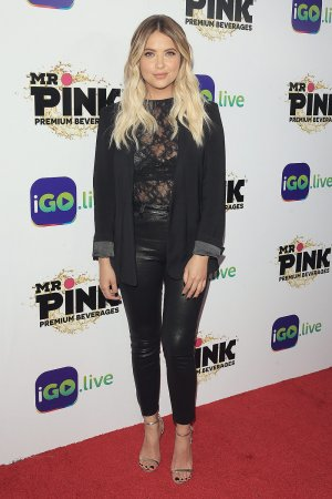 Ashley Benson attends Go live Launch Event