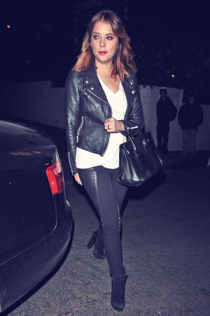 Ashley Benson leaving the Chateau Marmont