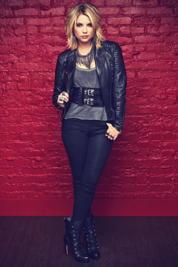 Ashley Benson Pretty Little Liars Season 3 Promos - Leather Celebrities