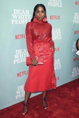 Ashley Blaine Featherson attends Dear White People TV show premiere