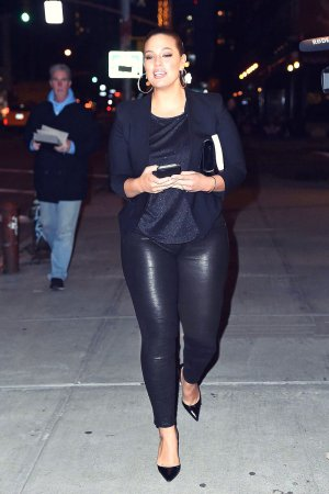 Ashley Graham seen out in Manhattan