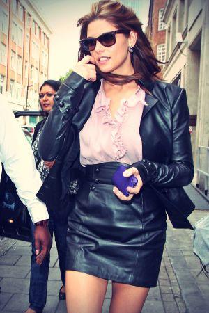 Ashley Greene candids London