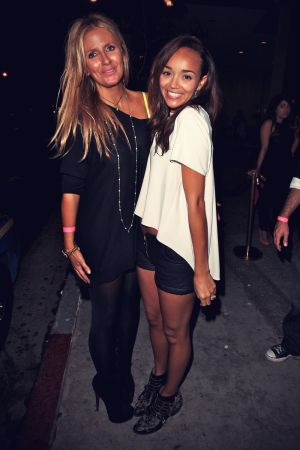 Ashley Madekwe at parties at Bootsy Bellows nighclub
