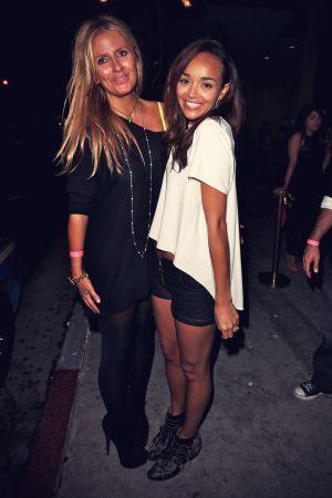 Ashley Madekwe at parties at Bootsy Bellows nighclub