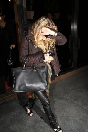 Ashley Olsen out to dinner in Beverly Hills