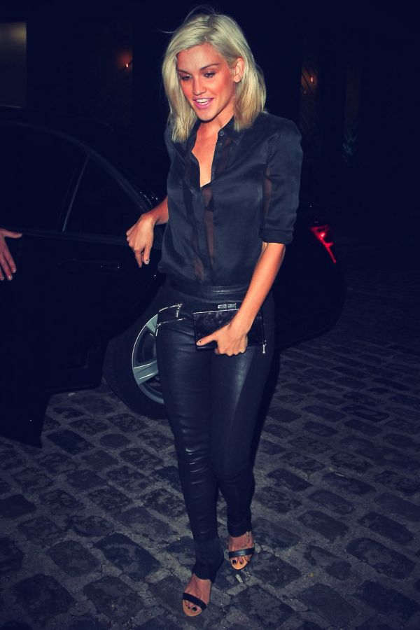 Celebrity Photos In Leather Leather Celebrities