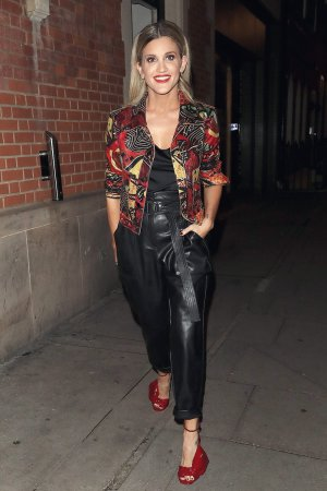 Ashley Roberts leaves It Takes Two at the Hospital Club