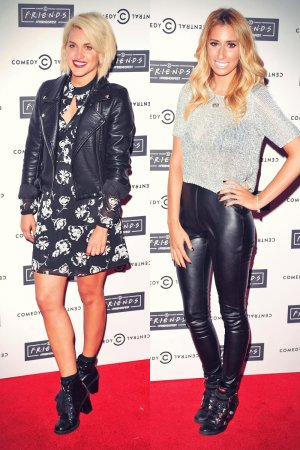 Ashley Roberts & Stacey Solomon attend Comedy Central's FriendsFest launch party