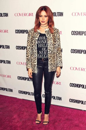 Ashley Tisdale attends Cosmopolitan Magazine's 50th Birthday Celebration