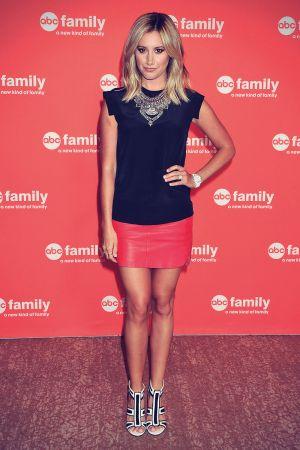 Ashley Tisdale attends Disney ABC TV Group 2014 TCA Summer Press Tour
