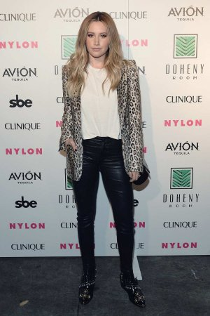 Ashley Tisdale attends NYLON Nights LA