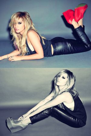 Ashley Tisdale on the Cover of Icon Magazine