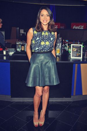 Aubrey Plaza attends CBS Films special screening of The To Do List