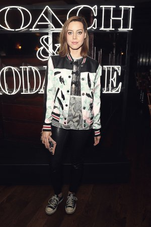 Aubrey Plaza attends Coach & Rodarte Dinner
