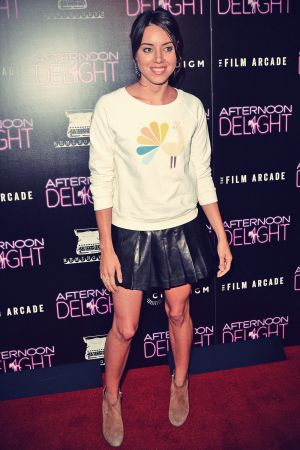 Aubrey Plaza attends Premiere of the Film Arcade and Cinedigm's Afternoon Delight