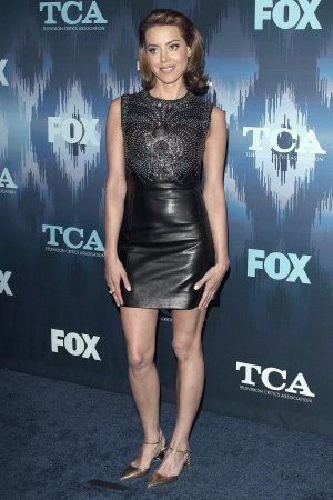 Aubrey Plaza attends TCA Tour