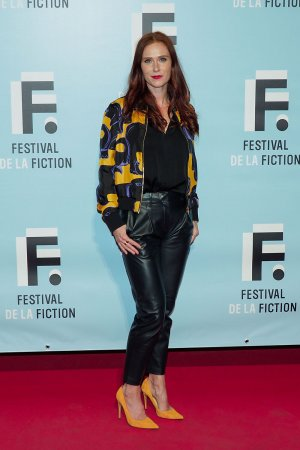 Audrey Fleurot attends 21th Festival of TV Fiction