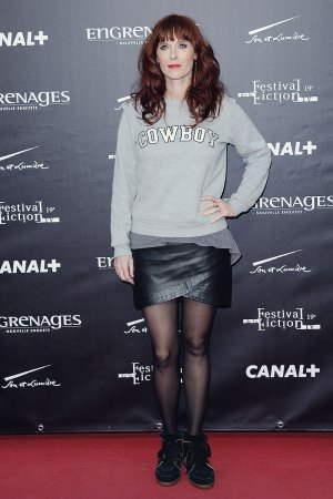 Audrey Fleurot attends Engrenages photocall