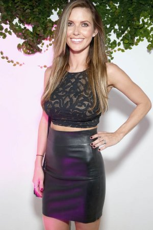 Audrina Patridge attends the DuJour Media, Gilt & JetSmarter party