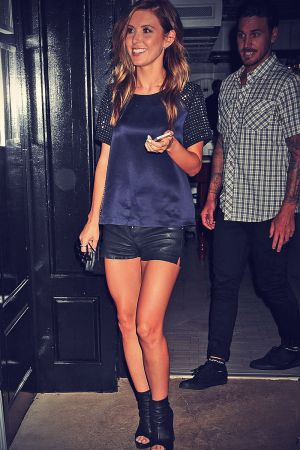 Audrina Patridge departs dinner at Greenwich Project