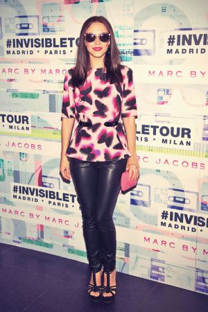 Aura Garrido attends the Marc By Marc Jacobs eyewear collection