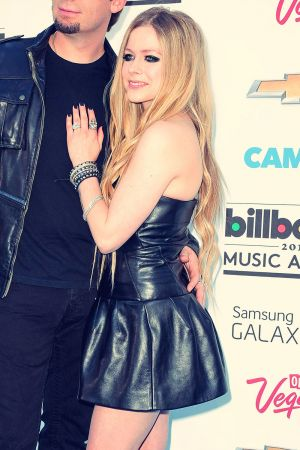 Avril Lavigne attends 2013 Billboard Music Awards