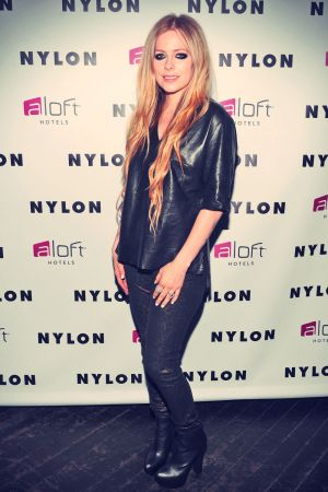 Avril Lavigne NYLON And Aloft Hotels Celebrate The June/July Music Issue