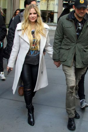 Avril Lavigne out and about in NYC