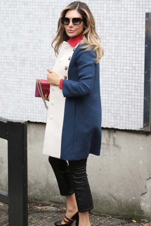 Ayda Field seen outside ITV Studios