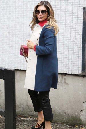 Ayda Field seen outside ITV Studios