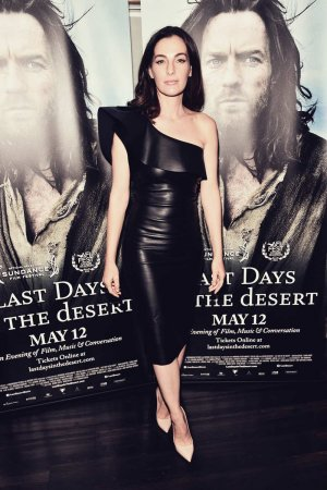 Ayelet Zurer attends a VIP screening of Last Days In The Desert