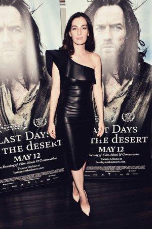 Ayelet Zurer attends a VIP screening of Last Days In The Desert