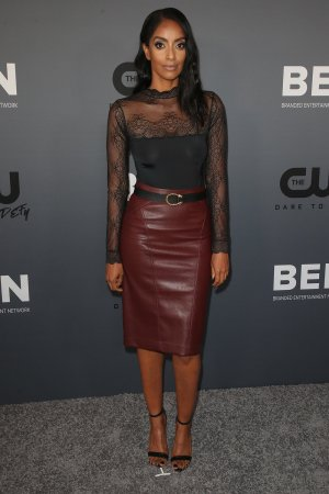 Azie Tesfai attends The CW's All Star Party, TCA Summer Press Tour