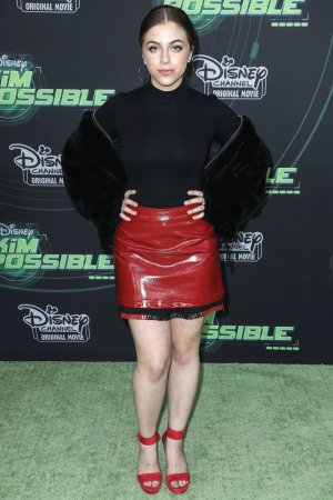 Baby Ariel attends Kim Possible Premiere