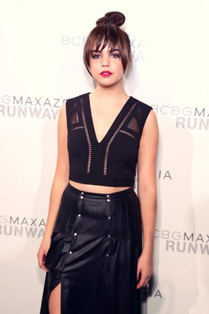 Bailee Madison attends BCBGMAXAZRIA Fall 2016 fashion show