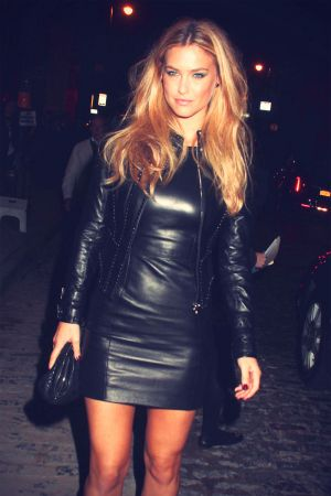 Bar Refaeli at Versace Soho Store Opening